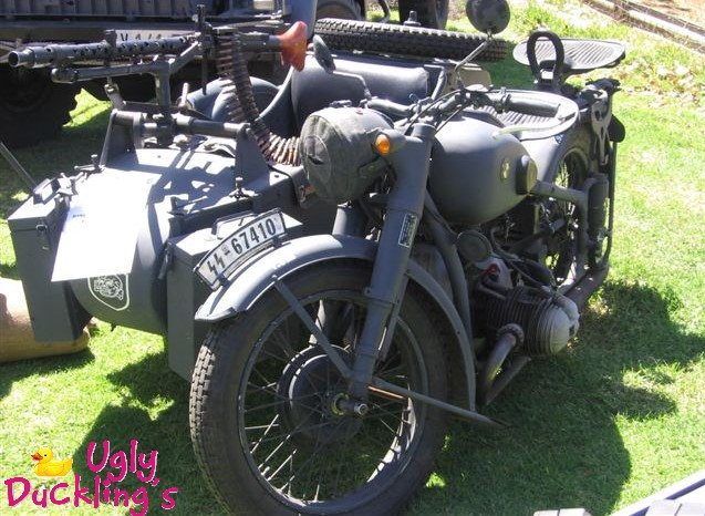 1940 BMW Military Motorbike with sidecar
