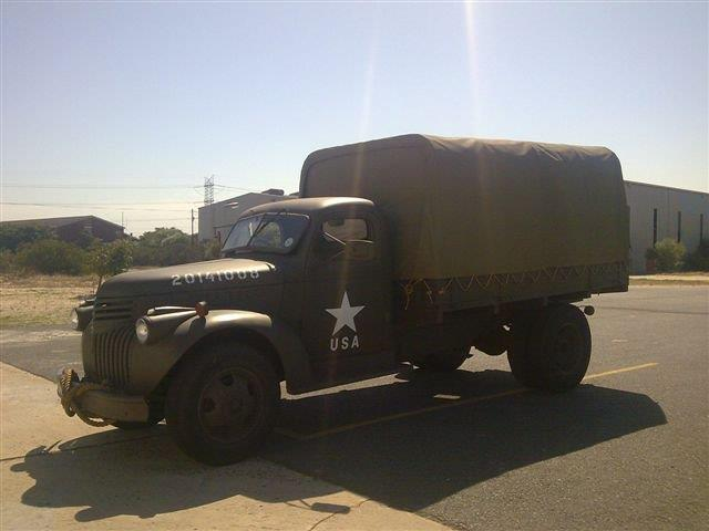1942 Chevrolet USA Troops Carrier