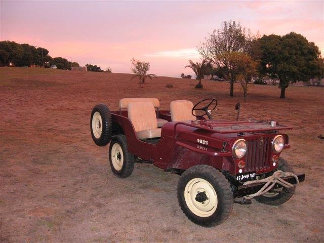 1947 Willys CJ 2A