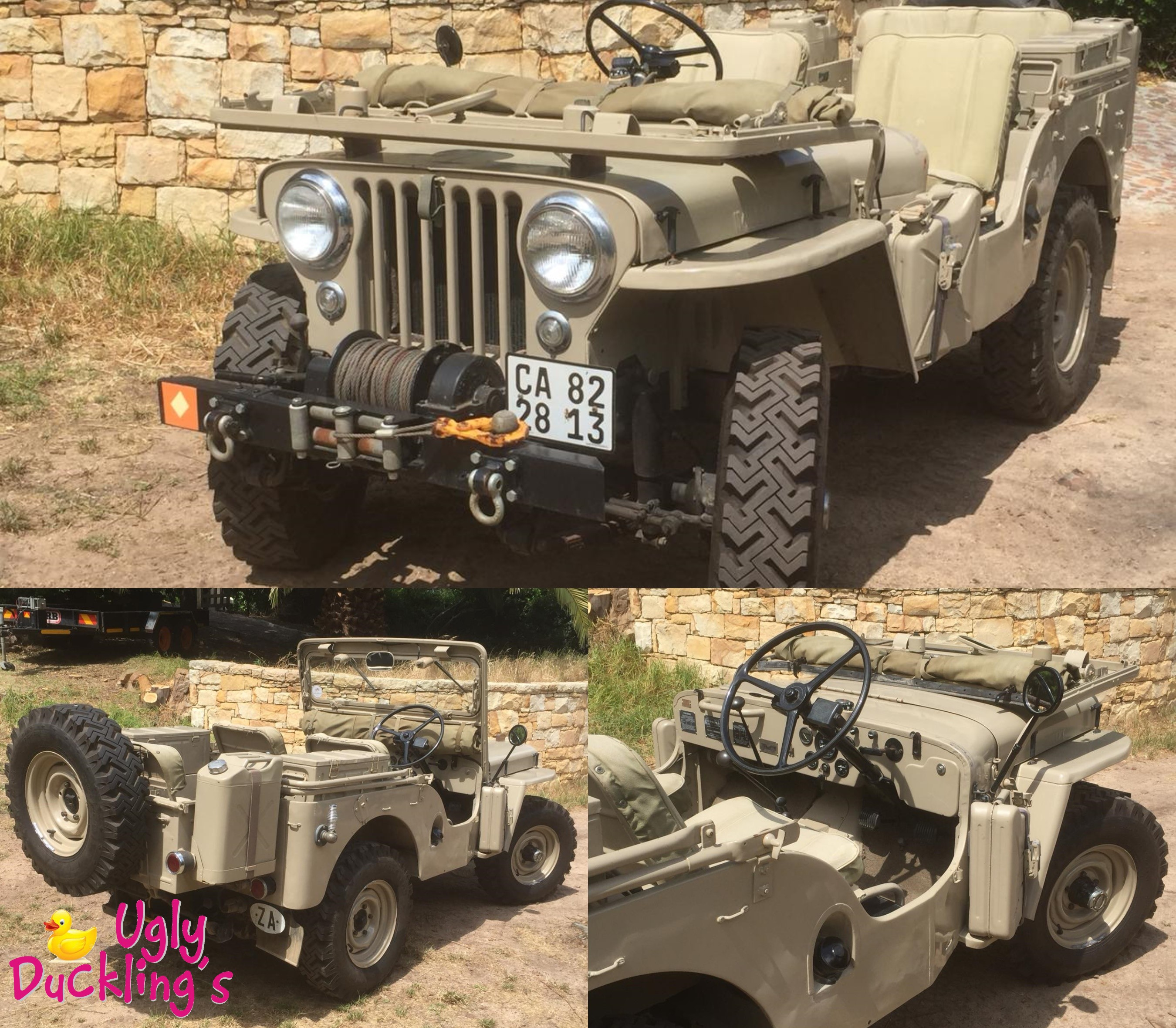 1950 CJ3A Willys Jeep