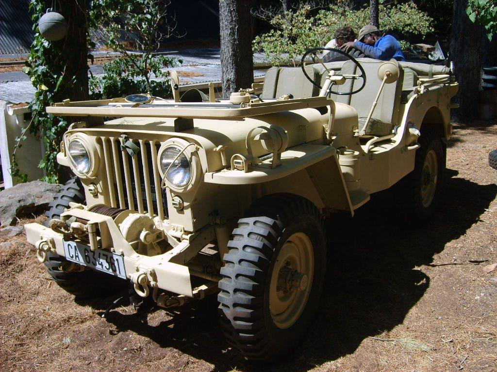 1950 Willys Jeep M38