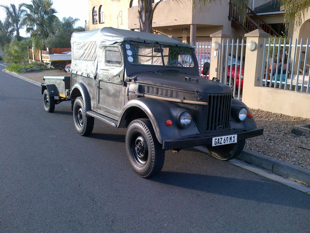 1956 Gas 69 Russian Army Jeep