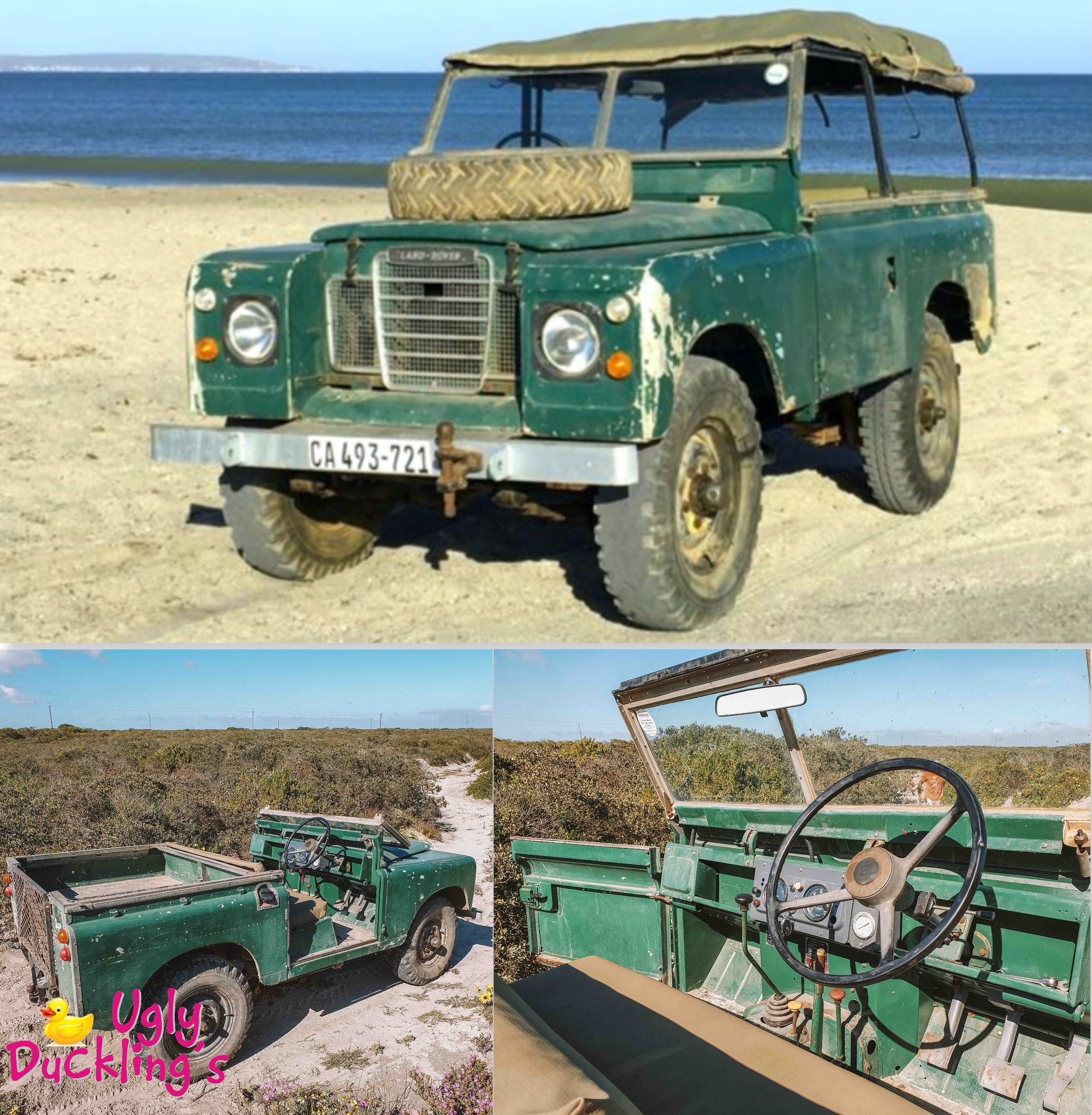 1968 Land Rover Series 2A SWB