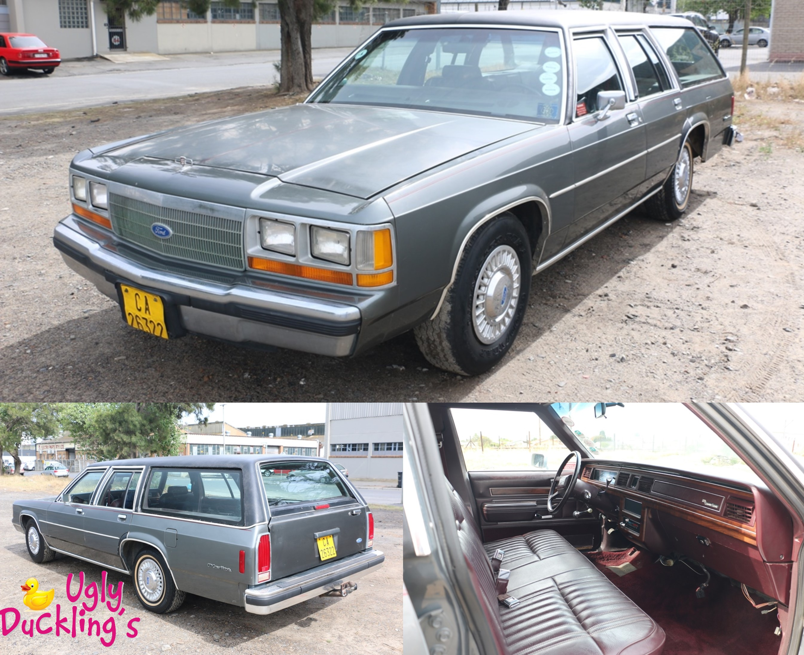 1988 Ford Crown Victoria Esquire lhd