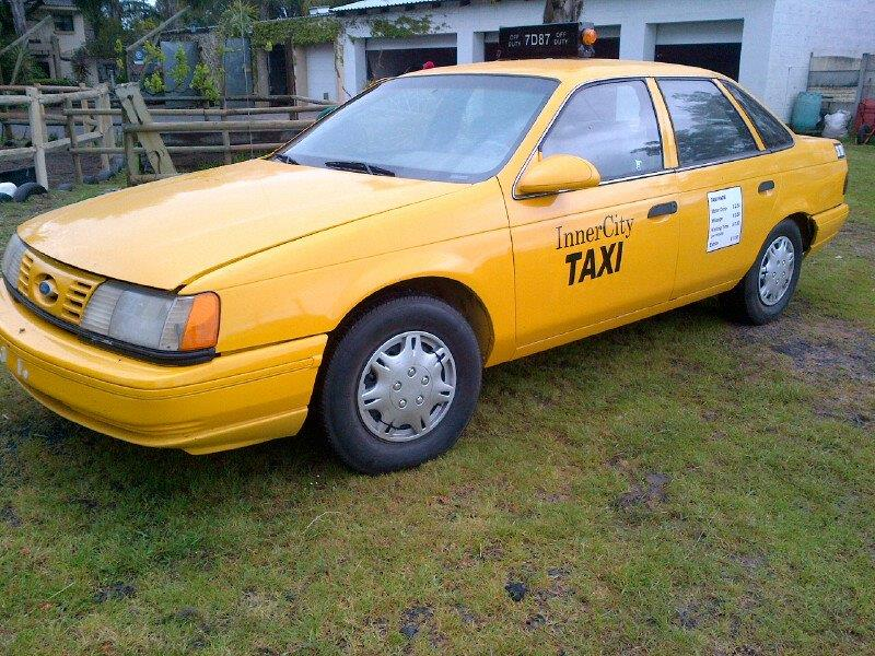 1995 Ford Taurus Taxi