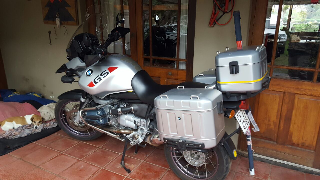 2003 BMW 1200GS motorcycle
