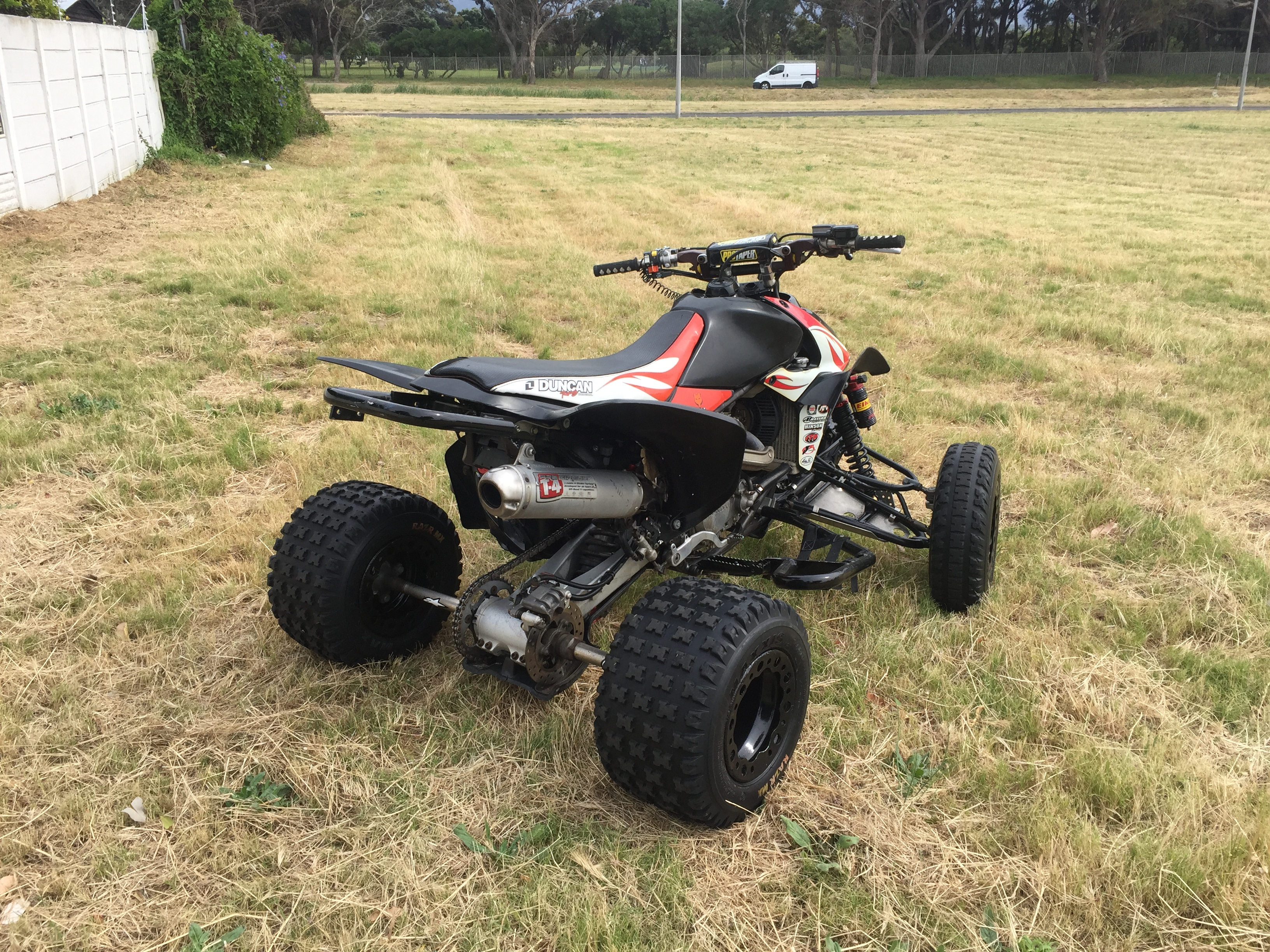 2005 Honda TRX450R Quad bike