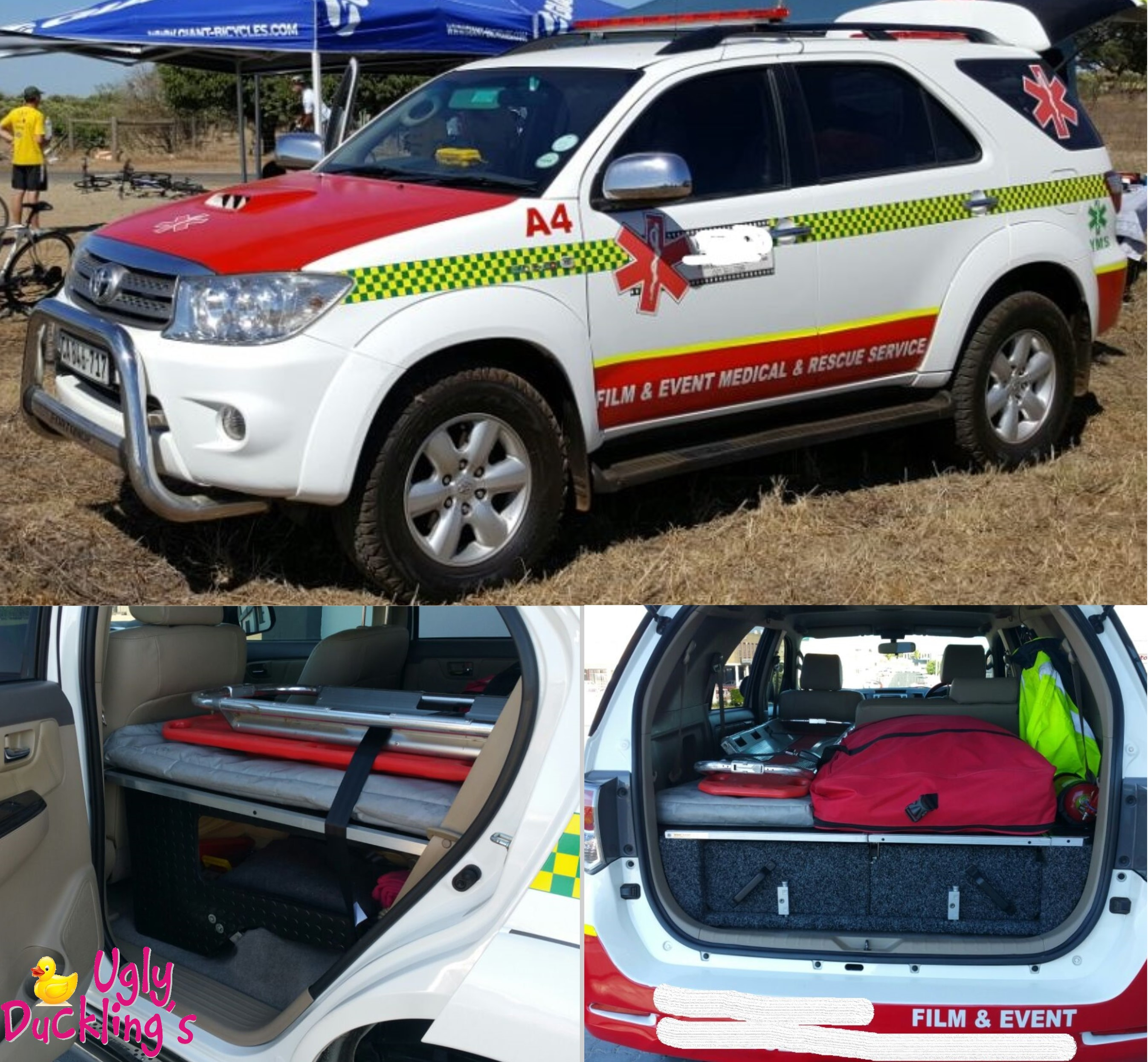 2011 Toyota Fortuner Emergency Vehicle