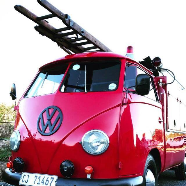 1960 VW Kombi Fire Engine